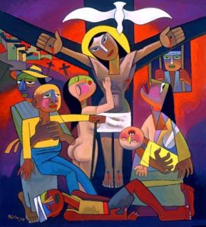 he_qi_crucifixion